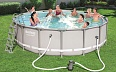Бассейн  Bestway Power Steel Frame Pools (круглый)