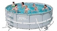 Бассейн каркасный Bestway Power Steel Frame Pools (круглый) 427 х 107, арт. 56641