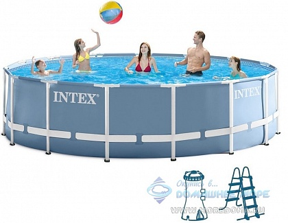 Бассейн каркасный INTEX Prism Frame Pool (круг) 3,05х0,99м, арт. 26706